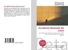 Buchcover von Accademia Nazionale dei Lincei