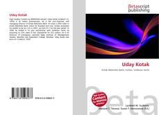 Bookcover of Uday Kotak