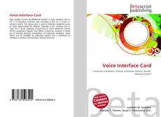 Bookcover of Voice Interface Card
