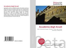 Couverture de Accademia degli Arcadi