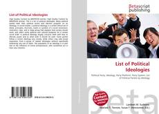 Bookcover of List of Political Ideologies