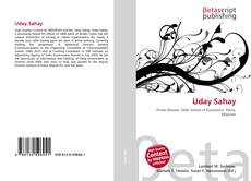 Bookcover of Uday Sahay