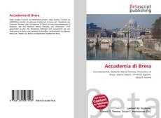 Buchcover von Accademia di Brera