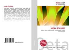 Bookcover of Uday Shankar