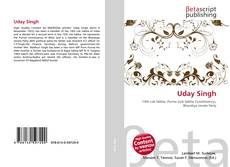 Bookcover of Uday Singh