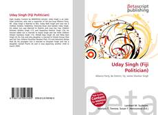 Bookcover of Uday Singh (Fiji Politician)