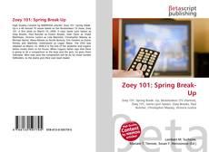 Capa do livro de Zoey 101: Spring Break-Up