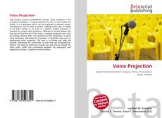 Portada del libro de Voice Projection