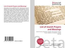Borítókép a  List of Jewish Prayers and Blessings - hoz