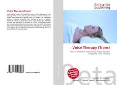 Bookcover of Voice Therapy (Trans)