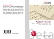 Bookcover of Wade Hemsworth