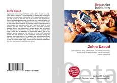 Zohra Daoud kitap kapağı