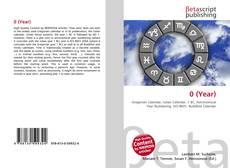 Capa do livro de 0 (Year)