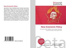 Bookcover of New Economic Policy