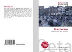 Bookcover of Oberstocken