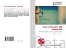 Bookcover of One Instruction Set Computer
