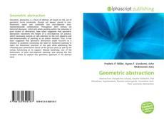 Couverture de Geometric abstraction