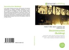 Bookcover of Deconstruction (Building)