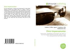 Couverture de Elvis Impersonator