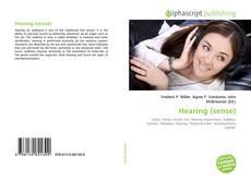 Bookcover of Hearing (sense)