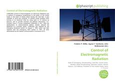Bookcover of Control of Electromagnetic Radiation
