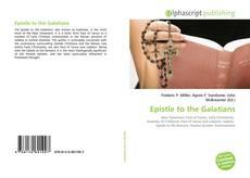 Capa do livro de Epistle to the Galatians