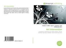 Copertina di Art intervention