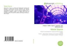 Copertina di Metal Storm
