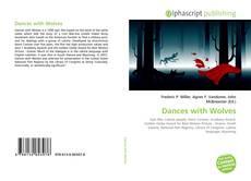 Capa do livro de Dances with Wolves