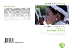 Bookcover of Burmese Chinese