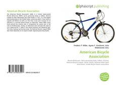 Bookcover of American Bicycle Association
