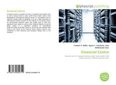Bookcover of Financial Centre