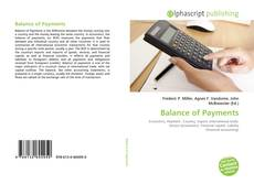 Bookcover of Balance of Payments