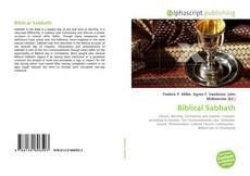 Bookcover of Biblical Sabbath