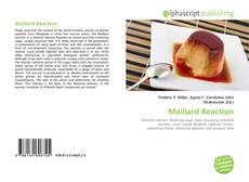 Buchcover von Maillard Reaction