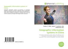Couverture de Geographic information systems in China