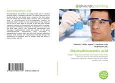 Bookcover of Docosahexaenoic acid