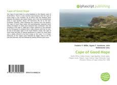 Обложка Cape of Good Hope