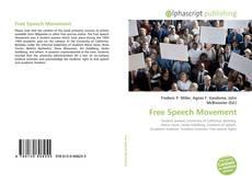 Bookcover of Free Speech Movement