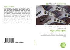 Bookcover of Fight Like Apes