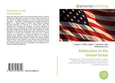 Bookcover of Arbitration in the United States