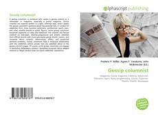 Bookcover of Gossip columnist