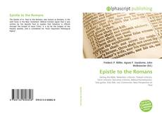 Couverture de Epistle to the Romans