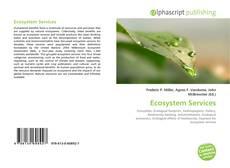 Ecosystem Services kitap kapağı