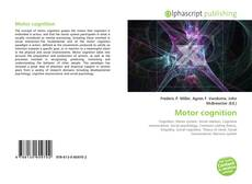 Bookcover of Motor cognition