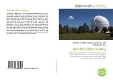 Capa do livro de Arecibo Observatory