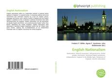 Capa do livro de English Nationalism