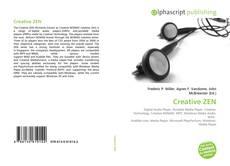 Capa do livro de Creative ZEN