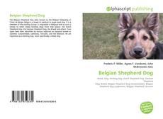 Bookcover of Belgian Shepherd Dog