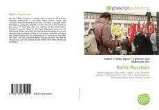 Couverture de Baltic Russians